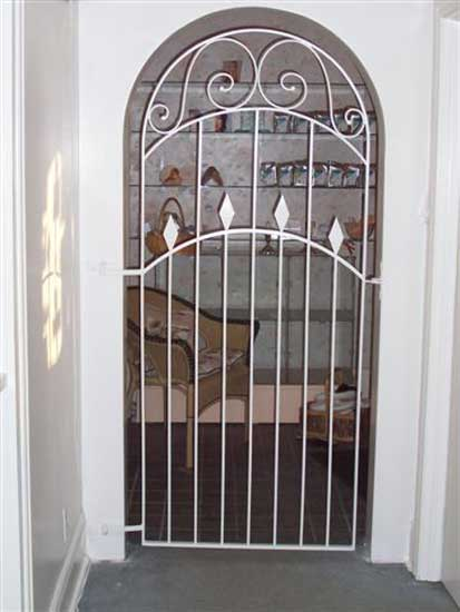 Superior Victorian Style Interior Gate Duplicating Interior Architectural Features